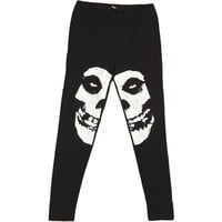 Misfits Women's  Leggings Black Rockabilia