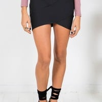 Bandage Skirt Black - Best Sellers - Clothing