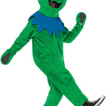 adult costume: grateful dead's dancing bear - green