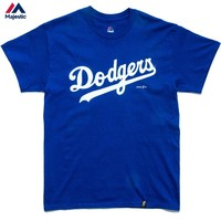 Official Majestic x Sworn Dodgers Slash Tee