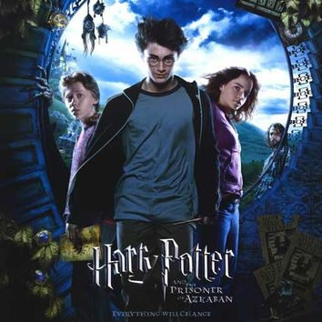 Harry Potter and the Prisoner of Azkaban 27x40 Movie Poster (2004)