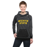 Wichita State Shockers Ladies Edge Arcadian Pullover Hoodie - Black
