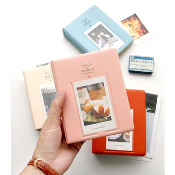 64 Pockets Mini Instant Polaroid Photo Album Picture Case Storage Instax Mini Film 7s 8 Korea instax mini album