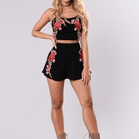 Addy Rose Shorts - Black