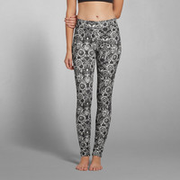 Lace Pattern Leggings