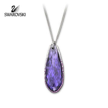 Swarovski Purple Velvet Crystal Jewelry PURE Pendant Necklace #1144240