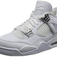 Nike Air Jordan Men's Retro 4 Fashion Shoes