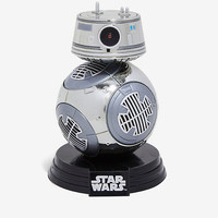 Funko Pop! Star Wars: The Last Jedi Chrome BB-9E Vinyl Bobble-Head - BoxLunch Exclusive