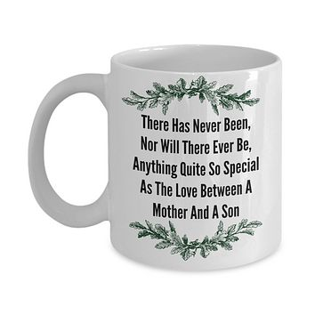 Mother And Son Sentiment Novelty Coffee Mug Custom Printed Coffee Cup