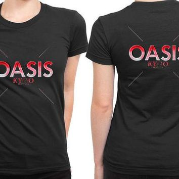 DCCKL83 Kygo Oasis Feat Sia 2 Sided Womens T Shirt