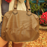 Hold My Own Purse: Cognac - One