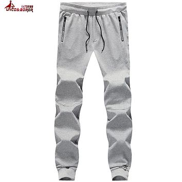 UNCO&BOROR plus size 6XL,7XL,8XL Mens Joggers 2017 Brand Male Trousers Men Pants Casual Pants Sweatpants Jogger sporting pants