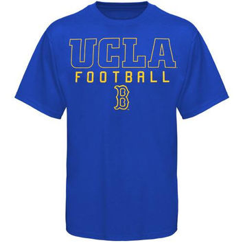 UCLA Bruins Frame Football T-Shirt - Royal Blue