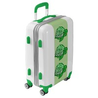 Green Turtles Luggage Suitcase
