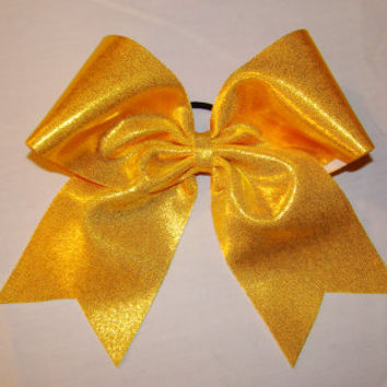 Yellow Mystic Cheer Bow