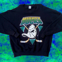 90s Mighty Ducks Crewneck Sweater