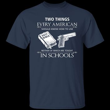 Two Things Every American T-Shirt