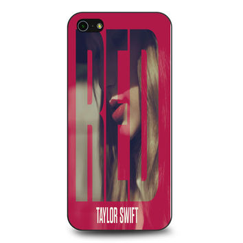 Red Taylor Swift Duluxe Version iPhone 5 | 5S Case