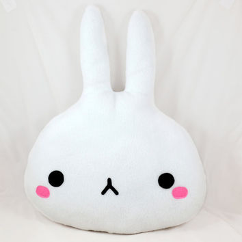 Bunny soft pillow / plush toy / home decor / nursery decor / novelty cushion / kawaii rabbit
