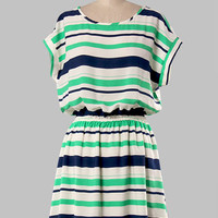 Yale Striped Dress