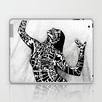 Girl In Shadow Laptop & iPad Skin by MIKART