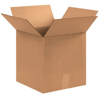 12 3/4  X 12 3/4  X 13 1/2  Corrugated Boxes (Bundle Of 25)