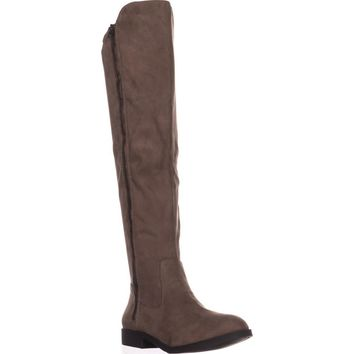 SC35 Hadleyy Over The Knee Boots, Truffle, 7.5 US