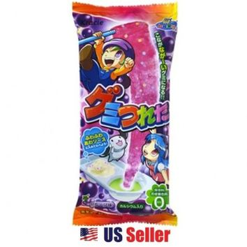 KRACIE Popin Cookin DIY Gummy Tsureta - Long Gummy Cyandy Grape Flavor Candy Making Kit $3.45