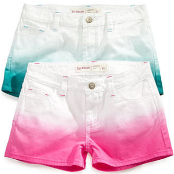 Epic Threads Kids Shorts, Girls Dip Dye Shortie Shorts - Kids Girls 7-16 - Macy's