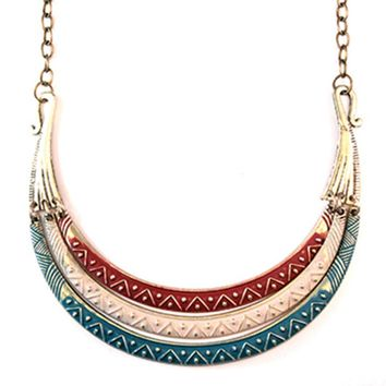 Warrior Bib Necklace