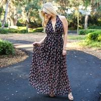 Rose Above Floral Maxi Dress