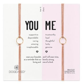 Dogeared Set of Two Friendship Bracelets | Nordstrom