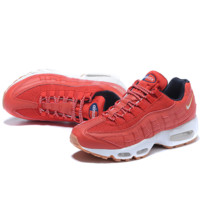 NIKE Air max Sneakers Running Sports Shoes Orange G-MDTY-SHINING
