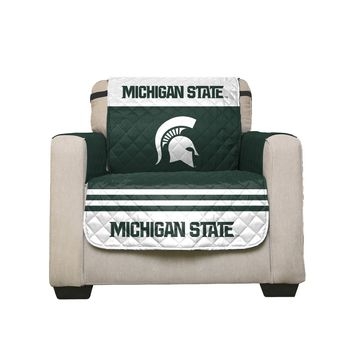Michigan State Spartans Home Game Reversible Chair Cover