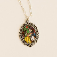 Beauty and the Beast Pendant