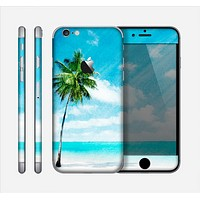 The Paradise Beach Palm Tree Skin for the Apple iPhone 6