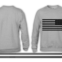 American Flag Tactical Subdued crewneck sweatshirt