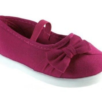 Girls Adore-55I Toddlers Canvas Mary Jane Flat Shoes