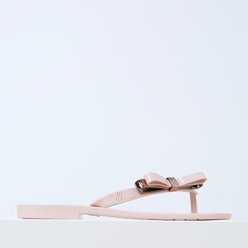 Harmonic Make A Wish Pink Sandals by Melissa