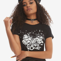 My Chemical Romance Crow & Skulls Girls T-Shirt