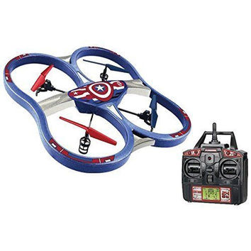 Marvel Captain America 2.4GHz 4.5-Channel RC Super Drone