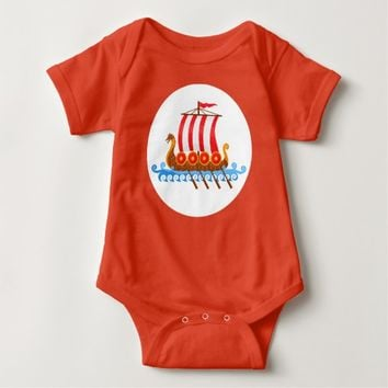Little Viking Baby Bodysuit