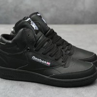 Reebok Men Classic Fashion Leather Casual Plate Shoes Sneakers-1