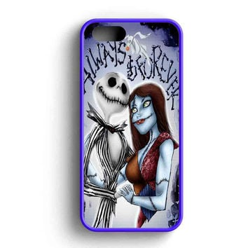 Jack Skellington And Sally iPhone Case For iPhone SE, 5s, 5c, 4