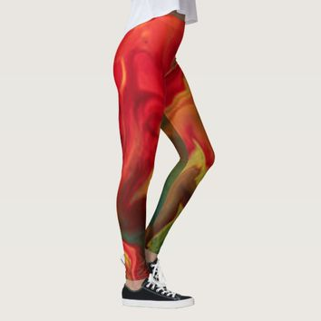 Red Giant Leggings