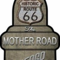Route 66 The Mother Road Chicago to LA Spark Plug Art
