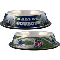 Dallas Cowboys Stainless Dog Bowl