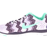 Nike Free TR Fit 3 Print Violet Frost/Purple Dynasty/Green Glow