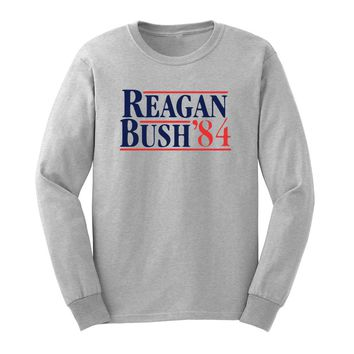 Reagan Bush 84 Long Sleeve T-Shirt