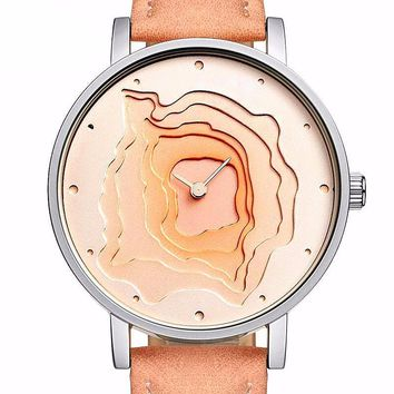 Creative Mineral Stylish Quartz Women Watch